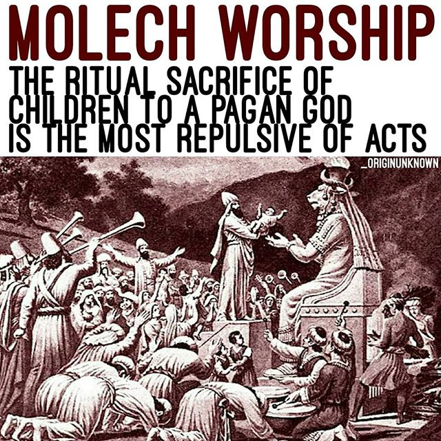 The Star Of The Occult God Moloch.
